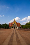 Thai temple. Thai Buddhist temple in Lamphun Thailand. Beautiful landmark Stock Photography