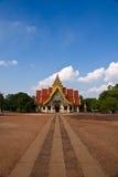 Thai temple. Thai Buddhist temple in Lamphun Thailand. Beautiful landmark stock photography