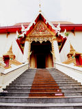 A Thai temple. Is a center of the community and is the temple of the clergy and religious ceremony Stock Images