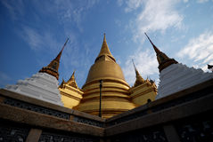 Thai Temple. In Bangkok city it very popular for tourist Royalty Free Stock Photos