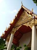 Thai Temple. A temple in Thailand. The style is typical Thai style Stock Photography
