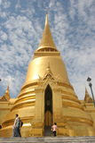 Thai Temple. Dome shaped temple in Thailand stock image