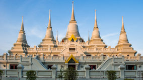 Thai Temple. Ancient Thai temple in Thailand Royalty Free Stock Image