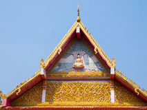 Thai temple arch . Stock Image