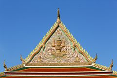 Thai temple art Royalty Free Stock Images