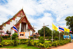 Thai temple in Ayutthaya Stock Photo
