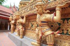 Thai temple. In bangkok Stock Photos
