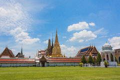 Thai Temple. The temple in Bangkok Thailand Royalty Free Stock Photography