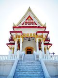 Thai temple. Beautiful temple with clear sky Stock Image