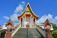 Thai temple is beautiful royalty free stock photography