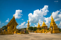Thai temple beautiful Stock Images