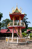 Thai temple bell tower Royalty Free Stock Photos