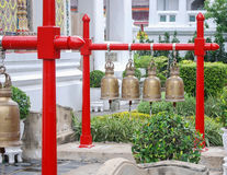 Thai Temple Bells Royalty Free Stock Photo