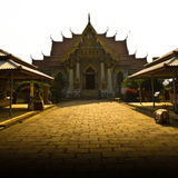 The Thai Temple of Bodh Gaya, India Stock Photo