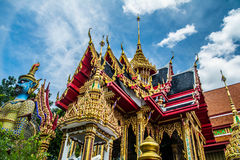 Thai temple bangkok Royalty Free Stock Photos
