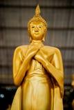 Thai temple. Buddha statue in Thai temple Royalty Free Stock Photos