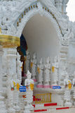 Thai temple of buddhism, lamphun Stock Photos