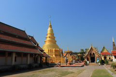 Thai temple of buddhism Stock Image
