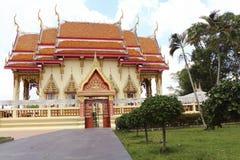Thai temple building Stock Photo