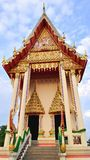 Thai temple building Stock Photography