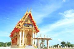 Thai temple building Royalty Free Stock Photos