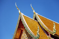 Thai temple in Chiang Mai Royalty Free Stock Photos