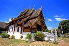 Thai Temple in Chiang Mai, Thailand Stock Photos