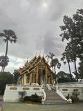 Thai Temple. Chiangmai temple in Thailand Royalty Free Stock Photography