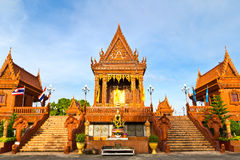 Thai Temple church. Temple church in bangkok thailand royalty free stock photo
