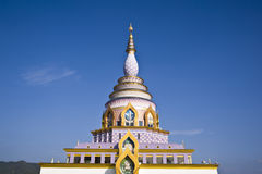 Thai temple church Royalty Free Stock Photos