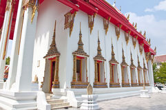 Thai temple church Royalty Free Stock Photo