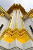 Thai Temple Church Wall Royalty Free Stock Photos