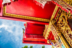 Thai temple culture Royalty Free Stock Photos