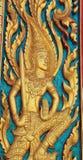 Thai temple door Stock Image