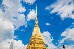 Thai temple of the Emerald Buddha Stock Image