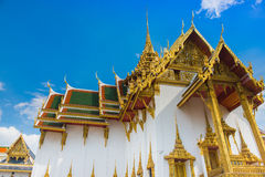 Thai temple of the Emerald Buddha Stock Photos