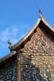Thai temple gable Royalty Free Stock Photos
