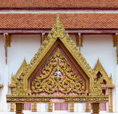 Thai temple gate Royalty Free Stock Photo