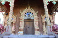 Thai temple gate Stock Photography