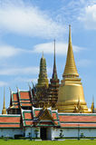 Thai temple in grand palace Royalty Free Stock Images