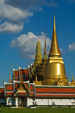Thai temple in grand palace Royalty Free Stock Photo
