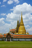 Thai temple in Grand Palace, Bangkok Stock Images