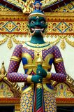 Thai Temple Guard. A thai temple guard at Penang, Malayis Stock Images