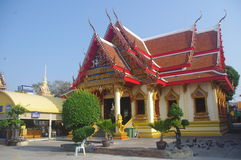 Thai temple in Hua Hin Royalty Free Stock Photography