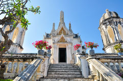 Thai temple at Khao Wang Stock Photography