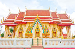 Thai temple, Khonkaen Thailand. The Thai temple style, Khonkaen Thailand Royalty Free Stock Images