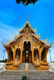 Thai Temple in  khonkane province Royalty Free Stock Photography