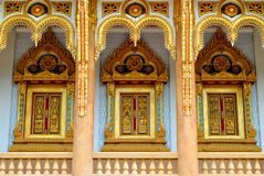 Thai Temple in  khonkane province Royalty Free Stock Photos