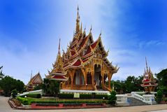 Thai Temple in  khonkane province Stock Photo
