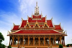 Thai Temple in  khonkane province Stock Images